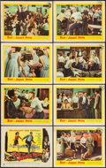 "Movie Posters:Exploitation, Riot in Juvenile Prison (United Artists, 1959). Lobby Card Set of 8(11"" X 14""). Exploitation.. ... (Total: 8 Items)"