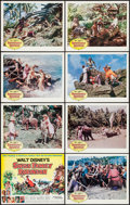 "Movie Posters:Adventure, Swiss Family Robinson (Buena Vista, 1960). Lobby Card Set of 8 (11""X 14""). Adventure.. ... (Total: 8 Items)"