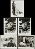 """Movie Posters:Western, For a Few Dollars More (United Artists, 1967/R-1969). Portrait and Scene Photos (5) (8"""" X 10.25""""). Western.. ... (Total: 5 Items)"""