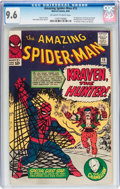 Silver Age (1956-1969):Superhero, The Amazing Spider-Man #15 (Marvel, 1964) CGC NM+ 9.6 Off-white towhite pages....