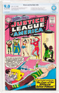 Silver Age (1956-1969):Superhero, The Brave and the Bold #30 Justice league of America (DC, 1960) CBCS VF/NM 9.0 Cream to off-white pages....