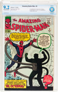Silver Age (1956-1969):Superhero, The Amazing Spider-Man #3 (Marvel, 1963) CBCS NM- 9.2 Off-white towhite pages....