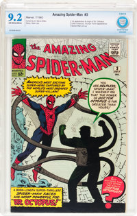 The Amazing Spider-Man #3 (Marvel, 1963) CBCS NM- 9.2 Off-white to white pages