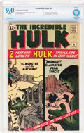 Silver Age (1956-1969):Superhero, The Incredible Hulk #4 (Marvel, 1962) CBCS VF/NM 9.0 White pages....