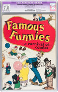 Platinum Age (1897-1937):Miscellaneous, Famous Funnies: A Carnival of Comics #nn (Eastern Color, 1933) CGCApparent FN/VF 7.0 Slight to Moderate (A-2) Off-white to wh...