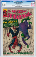 Silver Age (1956-1969):Superhero, The Amazing Spider-Man #6 (Marvel, 1963) CGC NM+ 9.6 Off-white towhite pages....