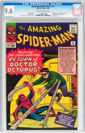 Silver Age (1956-1969):Superhero, The Amazing Spider-Man #11 (Marvel, 1964) CGC NM+ 9.6 Off-white to white pages....