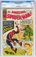 Silver Age (1956-1969):Superhero, The Amazing Spider-Man #5 (Marvel, 1963) CGC NM+ 9.6 Whitepages....