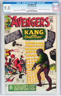 Silver Age (1956-1969):Superhero, The Avengers #8 (Marvel, 1964) CGC NM/MT 9.8 Off-white to white pages....