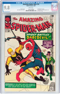Silver Age (1956-1969):Superhero, The Amazing Spider-Man #16 (Marvel, 1964) CGC NM/MT 9.8 Whitepages....
