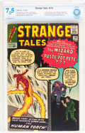 Silver Age (1956-1969):Superhero, Strange Tales #110 (Marvel, 1963) CBCS VF- 7.5 White pages....