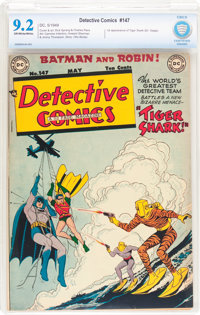 Detective Comics #147 (DC, 1949) CBCS NM- 9.2 Off-white to white pages