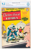 Golden Age (1938-1955):Superhero, Detective Comics #148 (DC, 1949) CBCS NM- 9.2 Off-white to white pages....