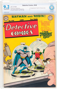 Detective Comics #148 (DC, 1949) CBCS NM- 9.2 Off-white to white pages