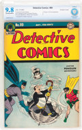 Golden Age (1938-1955):Superhero, Detective Comics #99 (DC, 1945) CBCS NM/MT 9.8 Off-white to white pages....