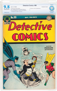 Detective Comics #99 (DC, 1945) CBCS NM/MT 9.8 Off-white to white pages