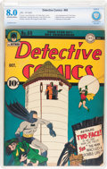 Golden Age (1938-1955):Superhero, Detective Comics #68 (DC, 1942) CBCS VF 8.0 Off-white to white pages....