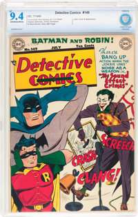Detective Comics #149 (DC, 1949) CBCS NM 9.4 Off-white to white pages