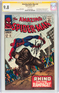 Silver Age (1956-1969):Superhero, The Amazing Spider-Man #43 Signature Series (Marvel, 1966) CGCNM/MT 9.8 White pages....