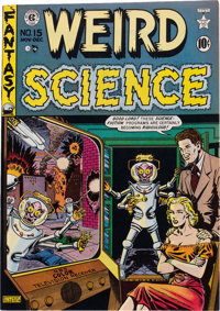 Weird Science #15 (#4) Gaines File pedigree 4/9 (EC, 1950) Condition: VF/NM