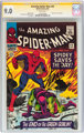 The Amazing Spider-Man #40 Signature Series (Marvel, 1966) CGC VF/NM 9.0 White pages