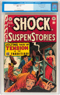 Golden Age (1938-1955):Horror, Shock SuspenStories #10 Gaines File pedigree 2/12 (EC, 1953) CGCNM+ 9.6 White pages....