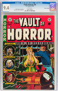 Golden Age (1938-1955):Horror, Vault of Horror #35 Gaines File pedigree 7/12 (EC, 1954) CGC NM 9.4White pages....