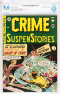 Golden Age (1938-1955):Horror, Crime SuspenStories #4 Gaines File pedigree 7/11 (EC, 1951) CBCSNM+ 9.6 Off-white to white pages....