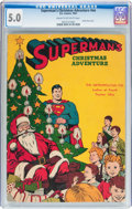 Golden Age (1938-1955):Superhero, Superman's Christmas Adventure #1 (National Periodicals, 1940) CGC VG/FN 5.0 Cream to off-white pages....