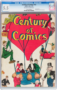 Century of Comics #nn (Eastern Color, 1933) CGC FN- 5.5 Off-white to white pages