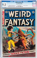 Golden Age (1938-1955):Science Fiction, Weird Fantasy #21 (EC, 1953) CGC NM- 9.2 Off-white to whitepages....