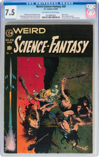 Weird Science-Fantasy #29 (EC, 1955) CGC VF- 7.5 Off-white to white pages