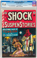 Golden Age (1938-1955):Horror, Shock SuspenStories #6 Gaines File pedigree (EC, 1952) CGC NM+ 9.6Off-white to white....