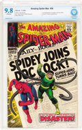 Silver Age (1956-1969):Superhero, The Amazing Spider-Man #56 (Marvel, 1968) CBCS NM/MT 9.8 Off-white pages....
