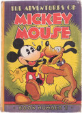 Platinum Age (1897-1937):Miscellaneous, The Adventures of Mickey Mouse Book II (David McKay, 1932)Condition: VG....