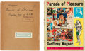 Memorabilia:Comic-Related, Parade of Pleasure First Edition with Original Proof Copy (Derek Verschoyle Limited, 1954).... (Total: 2 Items)