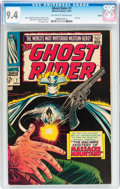 Silver Age (1956-1969):Western, The Ghost Rider #7 Boston pedigree (Marvel, 1967) CGC NM 9.4Off-white to white pages....