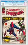 Silver Age (1956-1969):Superhero, The Amazing Spider-Man #23 (Marvel, 1965) CGC VF+ 8.5 Cream to off-white pages....