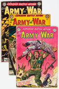 Golden Age (1938-1955):War, Our Army at War Group of 8 (DC, 1953-54) Condition: AverageGD/VG.... (Total: 8 Comic Books)