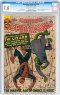 Silver Age (1956-1969):Superhero, The Amazing Spider-Man #6 (Marvel, 1963) CGC FN/VF 7.0 Off-white to white pages....
