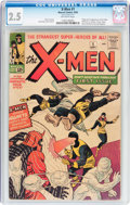 Silver Age (1956-1969):Superhero, X-Men #1 (Marvel, 1963) CGC GD+ 2.5 Off-white pages....