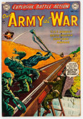 Golden Age (1938-1955):War, Our Army at War #5 (DC, 1952) Condition: VG/FN....