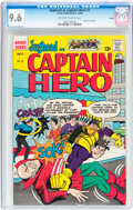 Silver Age (1956-1969):Humor, Jughead as Captain Hero #1 Boston pedigree (Archie, 1966) CGC NM+ 9.6 Off-white to white pages....
