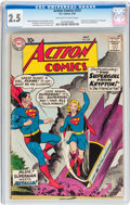 Silver Age (1956-1969):Superhero, Action Comics #252 (DC, 1959) CGC GD+ 2.5 Off-white to white pages....