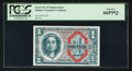 Military Payment Certificates:Series 611, Series 611 $1 Replacement PCGS Gem New 66PPQ.. ...