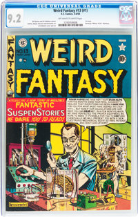 Weird Fantasy #13 (#1) (EC, 1950) CGC NM- 9.2 Off-white to white pages