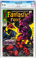Silver Age (1956-1969):Superhero, Fantastic Four #76 (Marvel, 1968) CGC NM/MT 9.8 White pages....