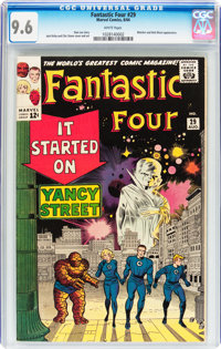 Fantastic Four #29 (Marvel, 1964) CGC NM+ 9.6 White pages