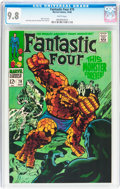 Silver Age (1956-1969):Superhero, Fantastic Four #79 (Marvel, 1968) CGC NM/MT 9.8 White pages....
