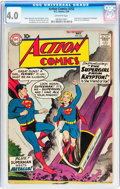 Silver Age (1956-1969):Superhero, Action Comics #252 (DC, 1959) CGC VG 4.0 Off-white pages....